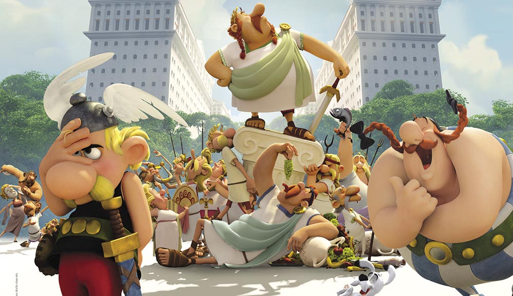 asterix and the land of gods animation movie